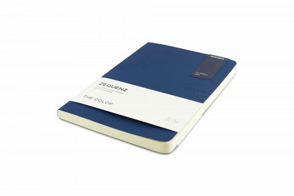 Zequenz The Color Notizbuch A5 Dunkles Marineblau