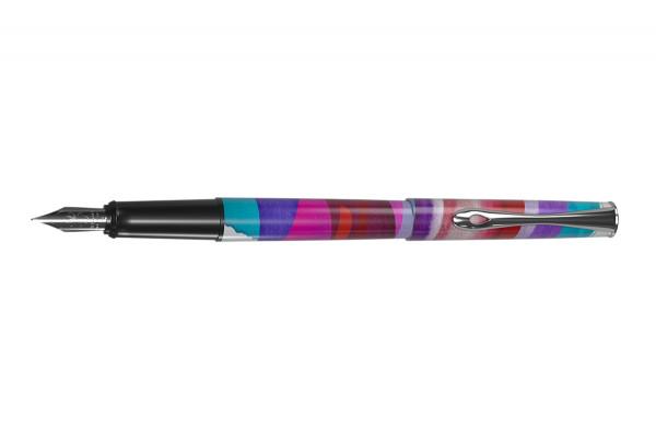 Diplomat Esteem fountain pen MadC2 Violet Caneva Limited Edition