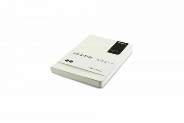 Zequenz Signature Lite 360 Notizbuch A6 Weiß