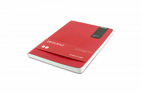 Zequenz Signature Lite 360 Notizbuch A5 Rot
