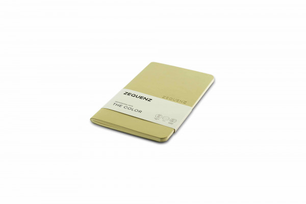 Zequenz The Color Notizbuch Professional Note Beige Braun