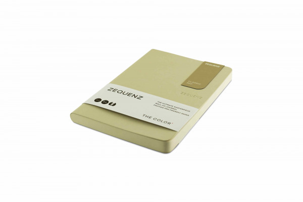 Zequenz The Color Notizbuch B6 Beige Braun