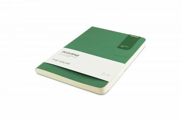 Zequenz The Color Notizbuch A5 Jadegrün