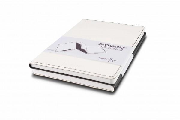 Zequenz Duo Notizbuch Schwarz Weiß B6