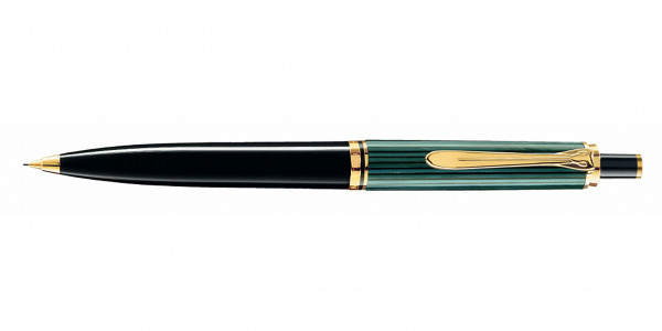 Pelikan Souverän 400 push pencil black green