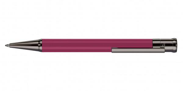 Otto Hutt Entwurf 04 Kugelschreiber Karminrose glänzend