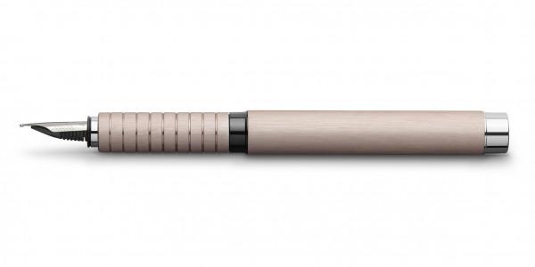 Faber-Castell Essentio Aluminium Füllfederhalter Rose
