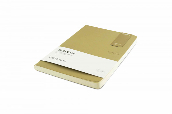 Zequenz The Color Notizbuch A5 Taupe Braun