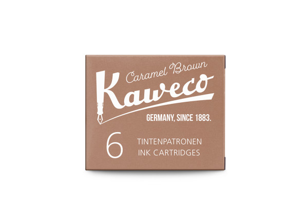 Kaweco ink cartridges caramel brown