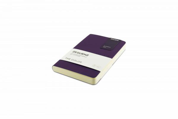 Zequenz The Color Notizbuch A6- Scarlet Gum Lila
