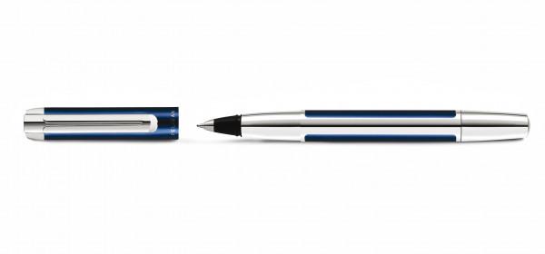 Pelikan Pura Tintenroller Blau Silber