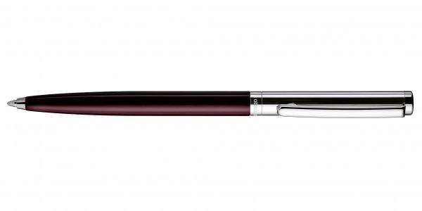 Otto Hutt Entwurf 01 Kugelschreiber Glatt Rot