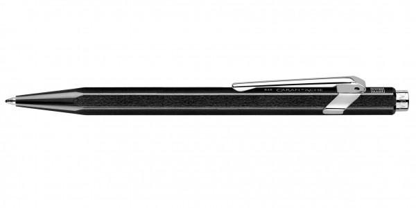 Caran d'Ache 849 Pop Line Kugelschreiber Metallic Schwarz