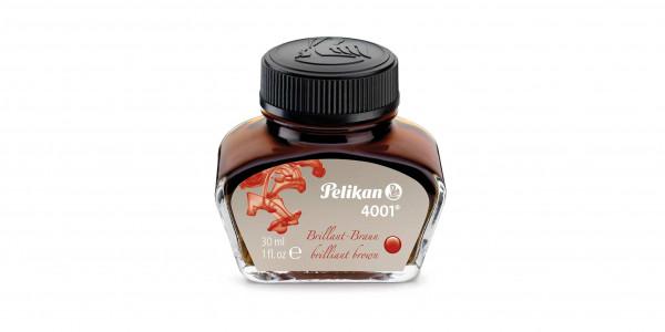 Pelikan ink glass 30 ml brilliant brown