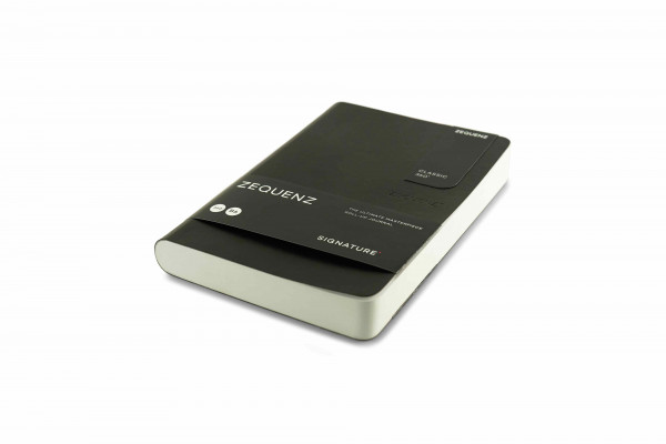 Zequenz Signature Classic 360 Notizbuch B6 Schwarz