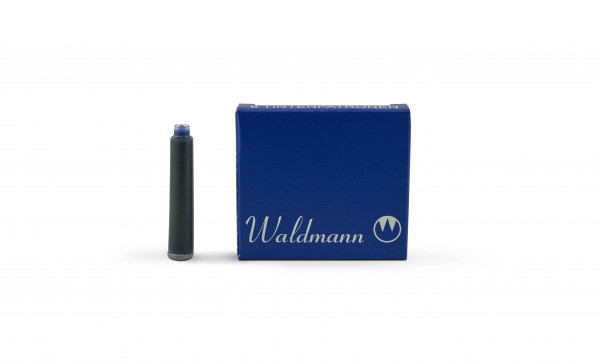 Waldmann Tintenpatronen Blau