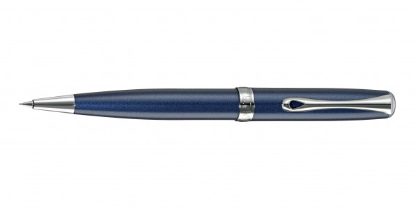 Diplomat Excellence A2 twist pencil midnight blue chrome