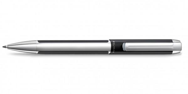 Pelikan Pura Kugelschreiber Schwarz Silber