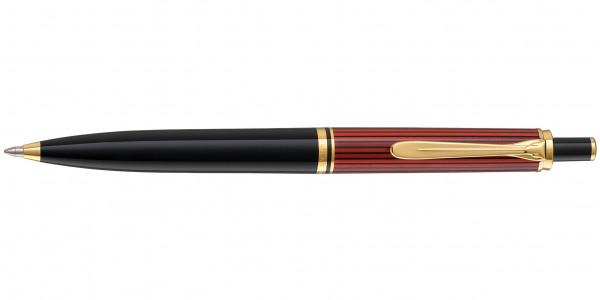 Pelikan Souverän 400 Kugelschreiber Schwarz Rot