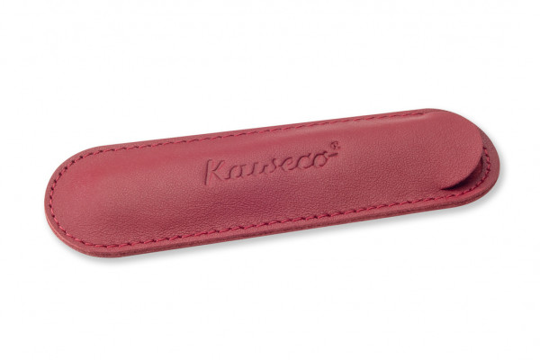 Kaweco Sport ECO leather pouch for 1 pen Chilli Pepper