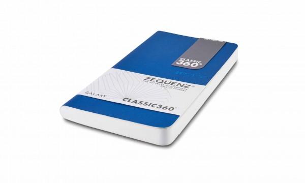 Zequenz Galaxy Notizbuch 360 Blau B6 10x18 cm