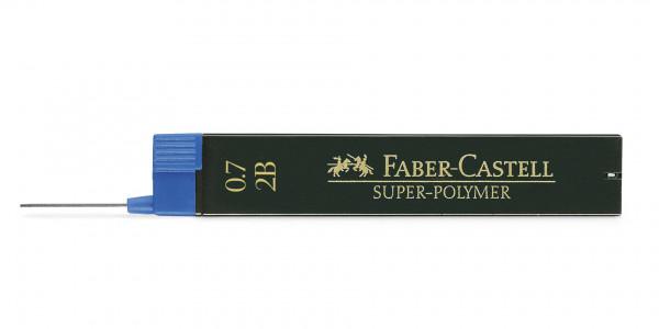 Faber-Castell Super-Polymer Feinmine 0.7 mm 2B
