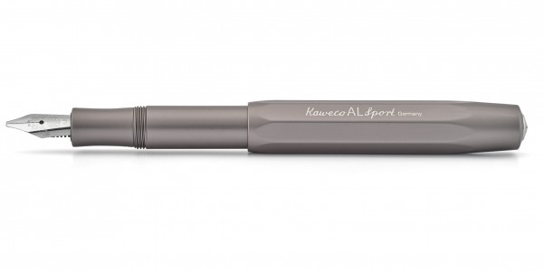 Kaweco AL Sport Kalligrafie Füllhalter Anthrazit 1.5 mm