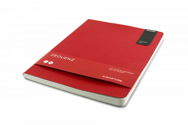 Zequenz Signature Lite 360 Notizbuch B5 Rot