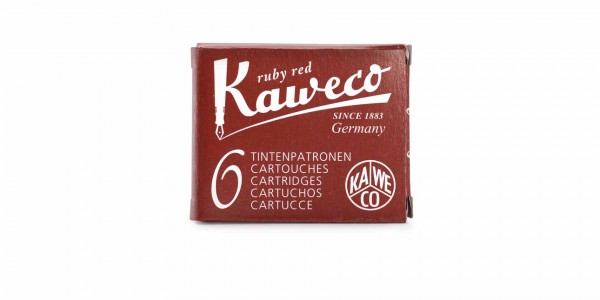 Kaweco Tintenpatronen Rubin Rot