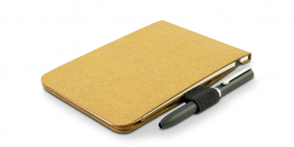 Off-Lines Der Zettelwirt Notebook A7 Sahara with pen-loop and pen