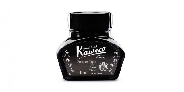 Kaweco ink bottle pearl black