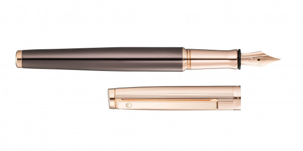 Waldmann Tuscany fountain pen rosegold steel nib