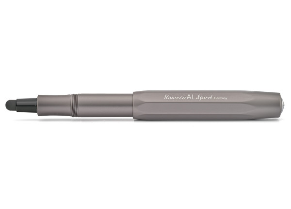 Kaweco AL Sport CONNECT Touch Stylus Anthrazit mit Spitze Schwarz