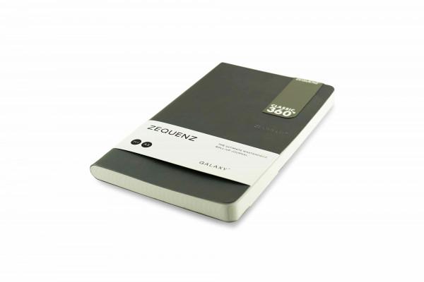 Zequenz Galaxy 360 Notizbuch A5 Slim Anthrazit 13x21 cm