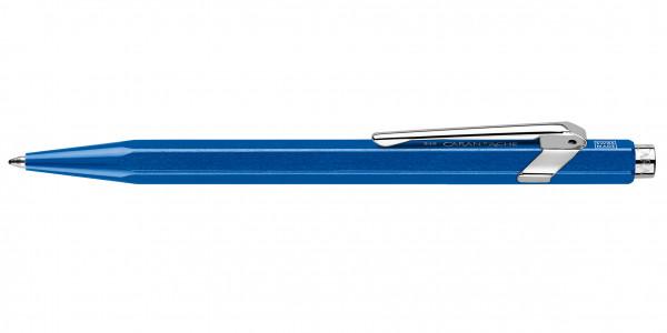 Caran d'Ache 849 Pop Line Kugelschreiber Metallic Blau