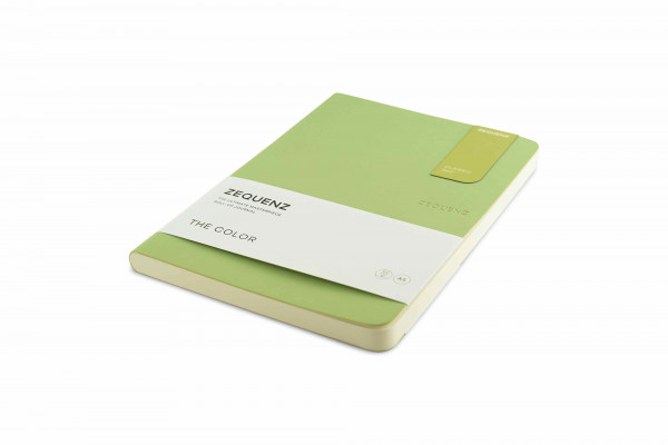 Zequenz The Color Notizbuch A5 Olivgrün