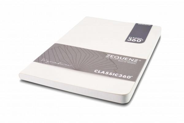 Zequenz Signature Notizbuch 360 Weiß A5 Lite