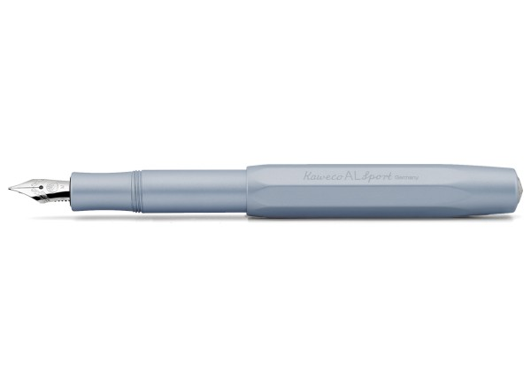 Kaweco AL Sport fountain pen light blue nib steel