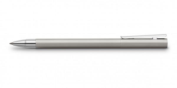 Faber-Castell Neo Slim Edelstahl Tintenroller Matt
