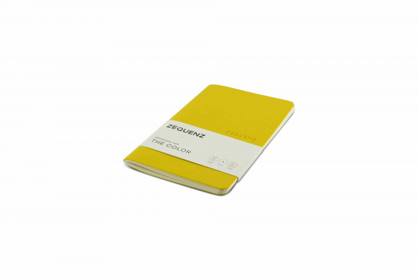 Zequenz The Color Notizbuch Professional Note Senfgelb
