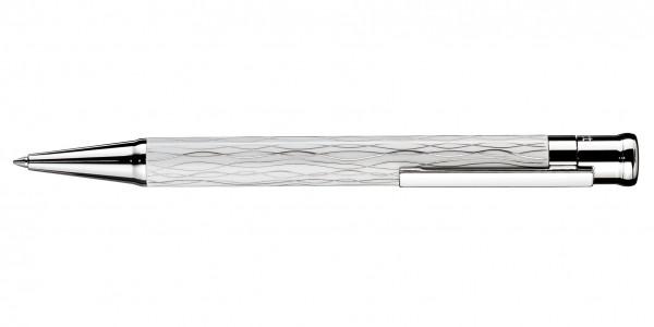 Otto Hutt Entwurf 04 Kugelschreiber Welle Weiß