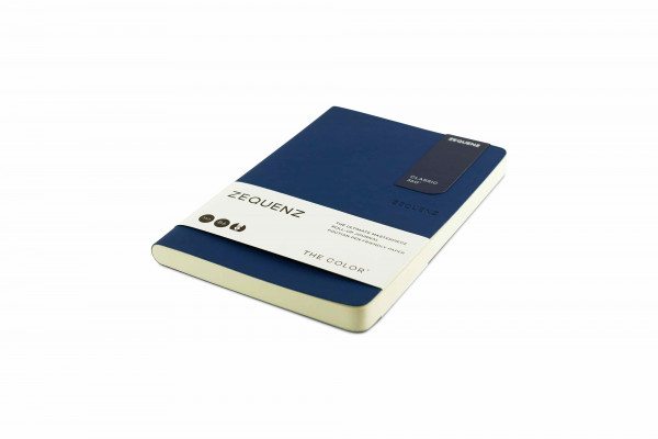 Zequenz The Color Notizbuch B6 Dunkles Marineblau