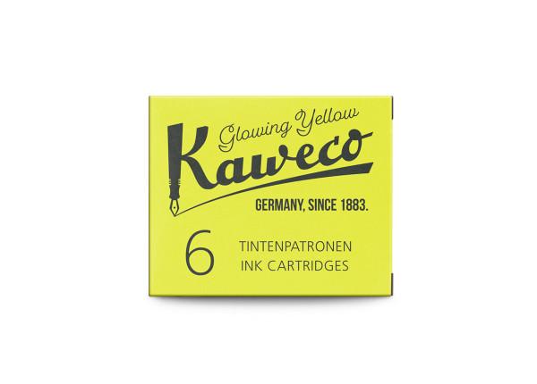 Kaweco Tintenpatronen Highlighter Gelb