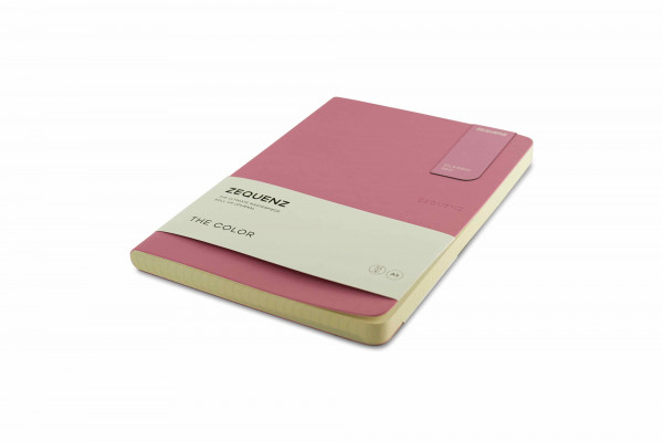 Zequenz The Color Notizbuch A5 Flieder Rose