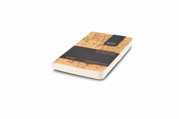 Zequenz Cork Lite Notizbuch A6- Cleanstyle natural B  9x14 cm