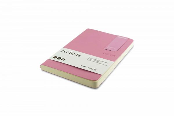 Zequenz The Color Notizbuch B6 Flieder Rose