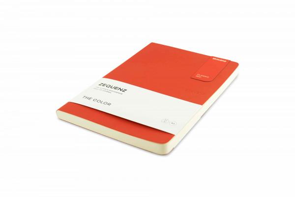 Zequenz The Color Notizbuch A5 Grenadier Orange