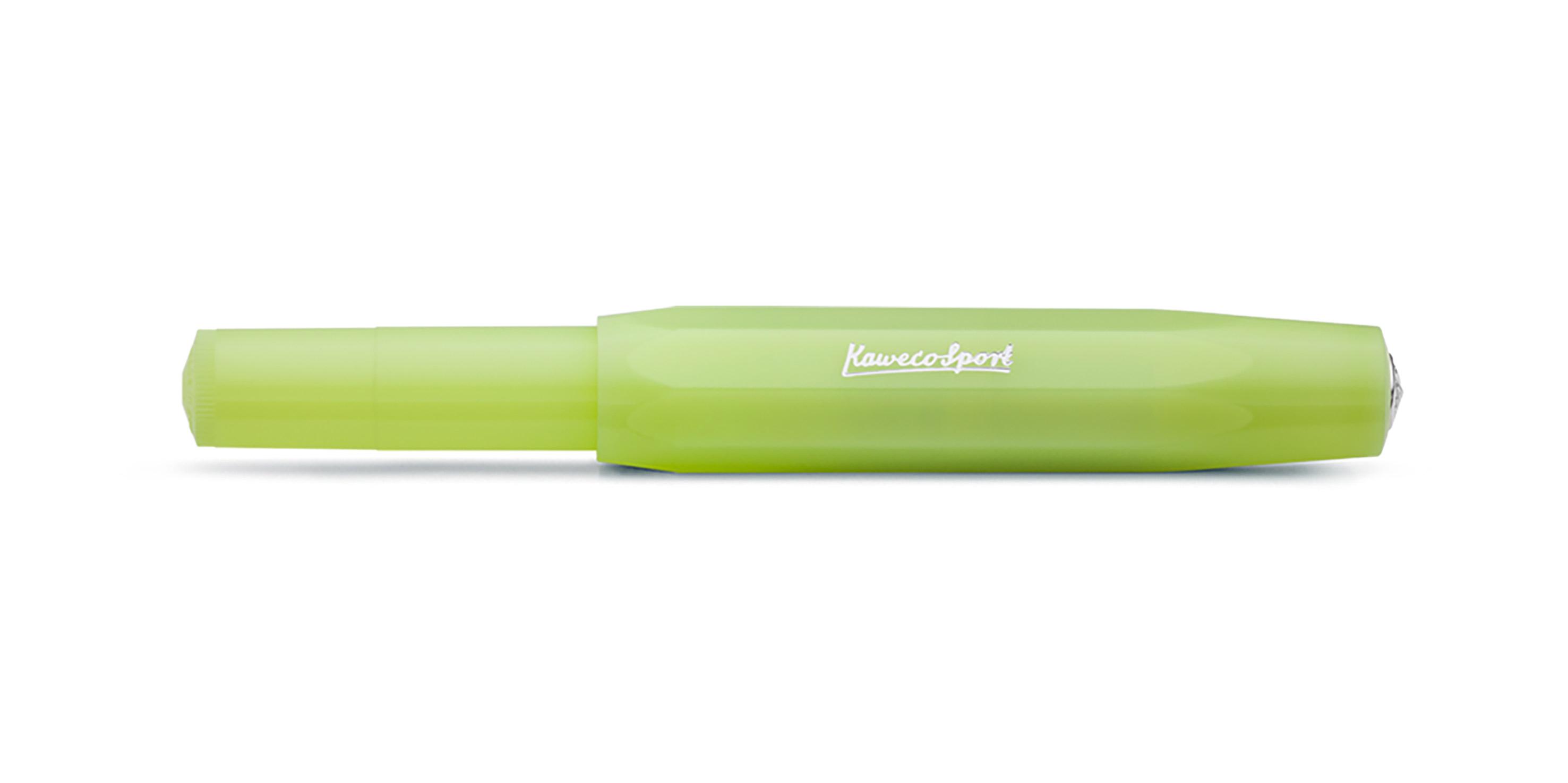 Kaweco Sport FROSTED Kugelschreiber Fine Lime