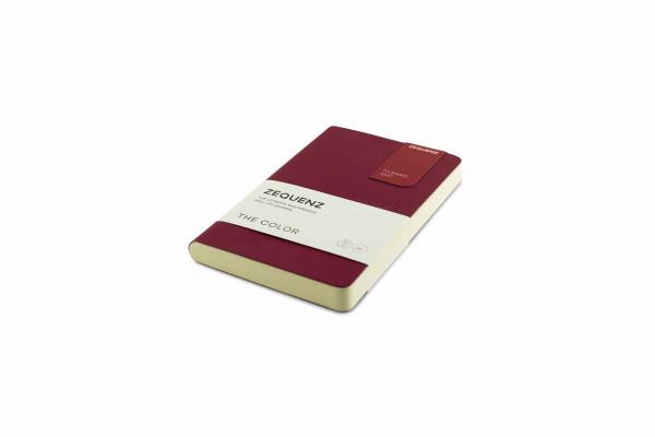 Zequenz The Color Notizbuch A6- Beeren Bordeaux