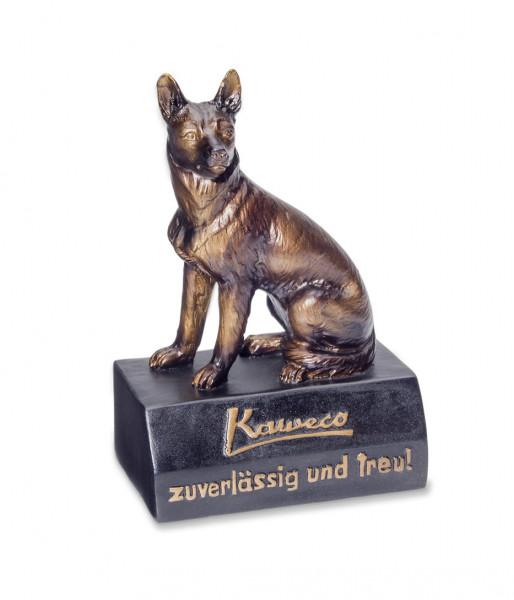 Kaweco Schäferhund Mini Schreibtisch Dekoration